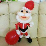 ballonfiguur-kerstman