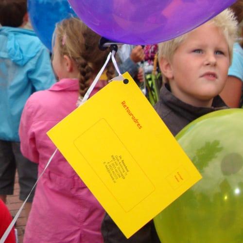 wedstrijdkaartjes voor ballonnen