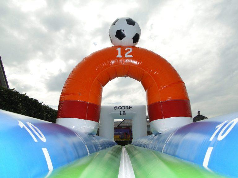 buikglijbaan voetbal huren Drenthe