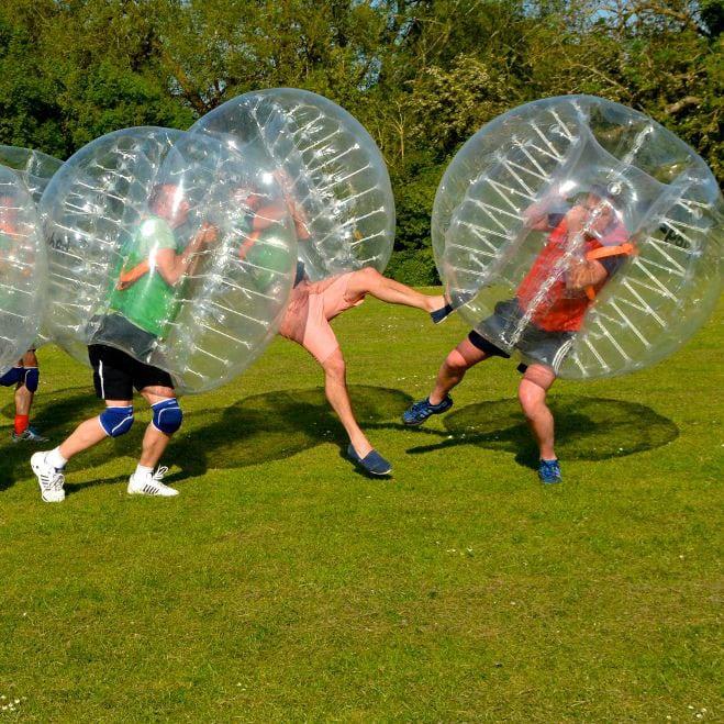 bubbel voetbal in Groningen, Drenthe en Overijssel