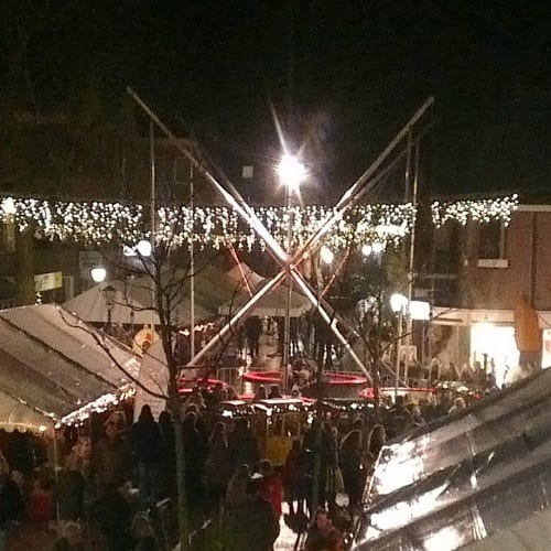attractie voor kerstmarkt
