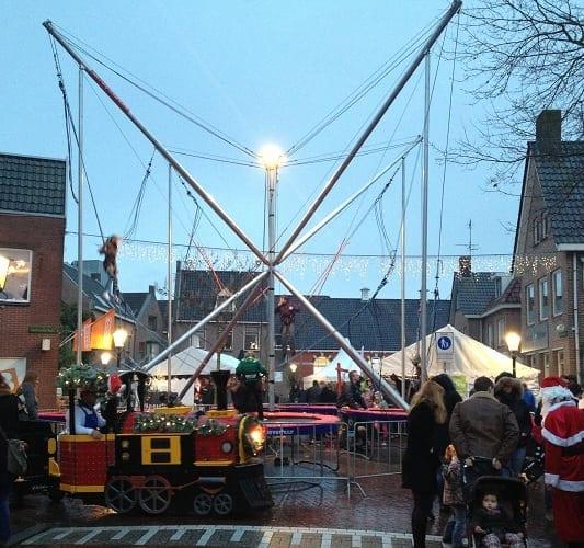 Winterattractie huren voor kerstmarkt