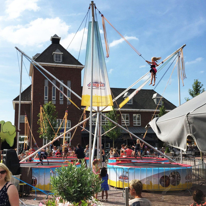 Bungee trampoline levering Friesland