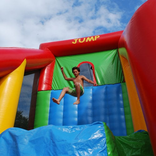 Base Jump met vrije val