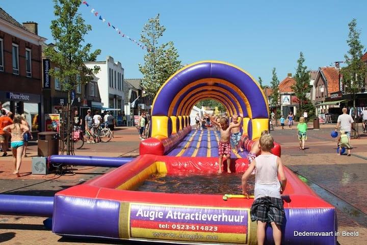 Buikglijbaan huren in Hoogeveen