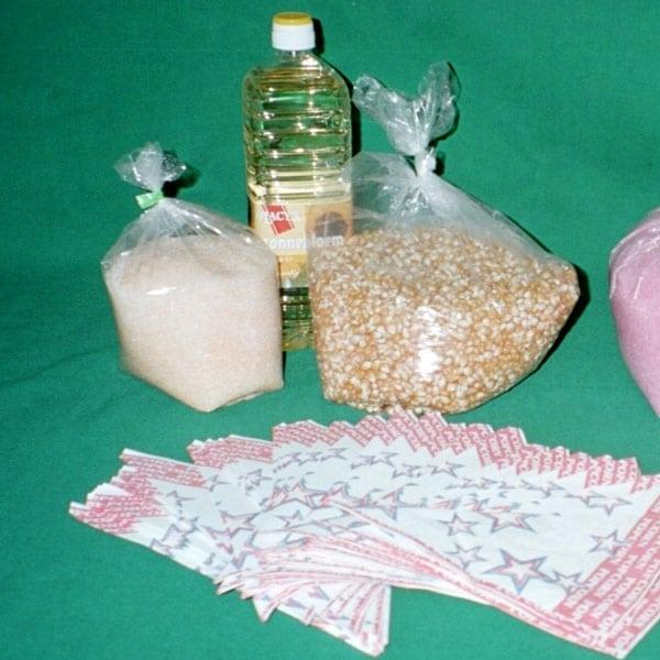 ingredienten voor popcorn