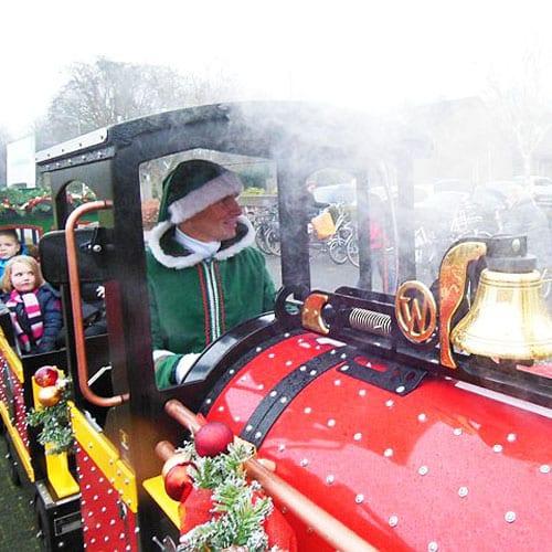 Kerst Express kindertrein huren