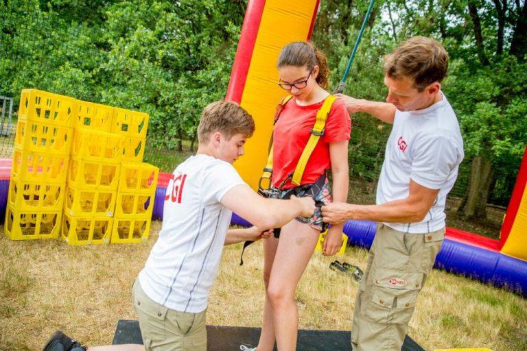 attractie voor pubers: kratklimmen