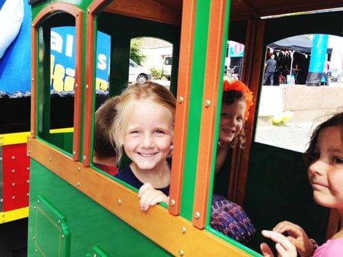 trein voor kinderen huren