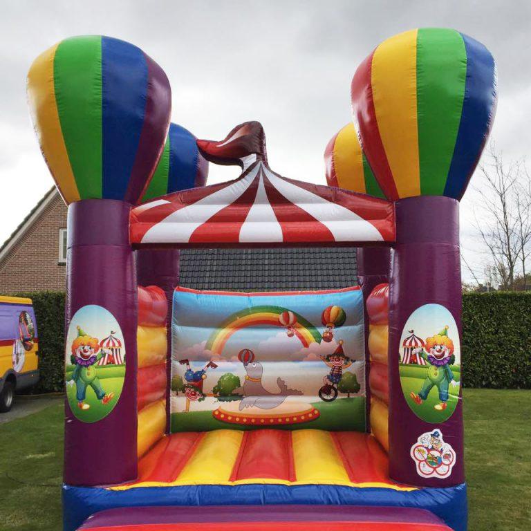 klein springkussen huren thema circus