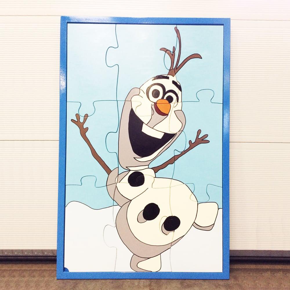Sneeuwpop Winterpuzzel