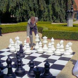 Reuzen schaakspel huren