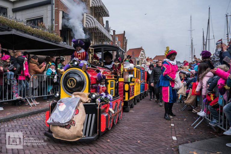 Sinterklaastrein in Hoorn