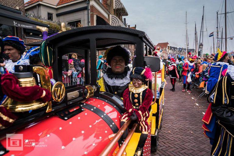 Kindertrein bij intocht Sinterklaas