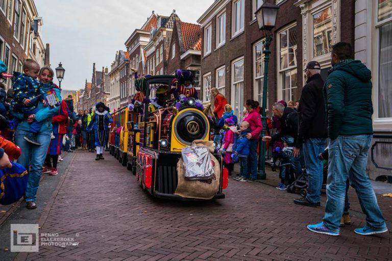 Sinterklaas kindertrein in Friesland