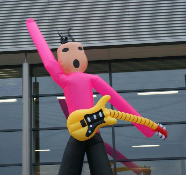 Skydancer gitarist