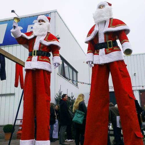 Steltenloper Kerstman