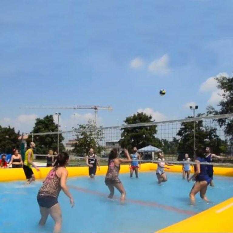 water volleybal huren