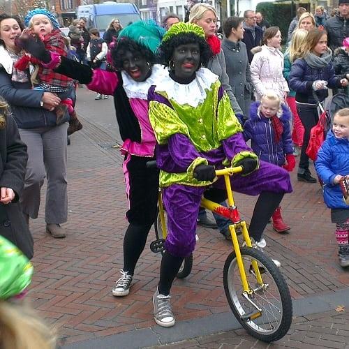 Hobbeltandem Zwarte Piet