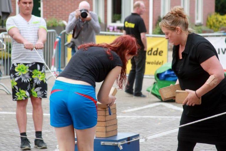 blokstapelspel huren Overijssel en Drenthe