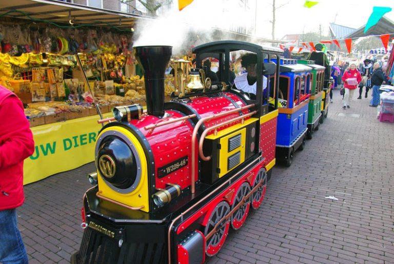 Sinterklaas kindertrein in Helmond