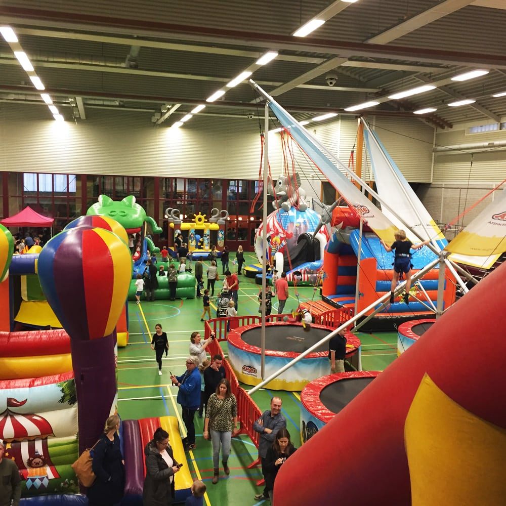 Indoor Springkussenfestival