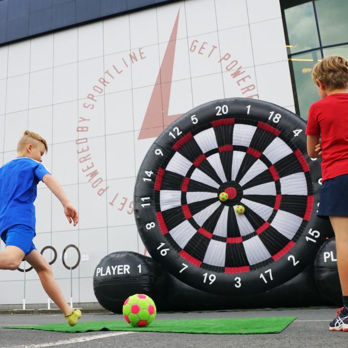 Voetbal darts te huur in Enschede twente