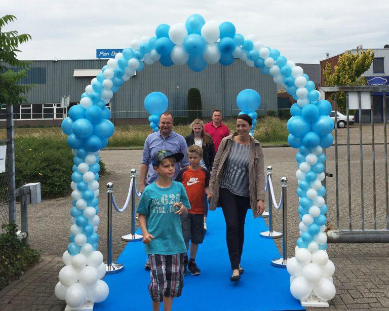 ballonnen boog luxe huren in Hardenberg
