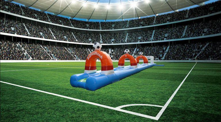 Buikschuifbaan voetbal huren Zwolle