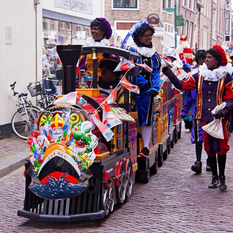 Mini Express Kindertrein voor Sinterklaas activiteiten