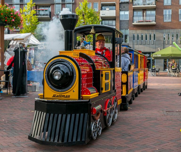 Mini Express Kindertrein huren toeristen Vechtdal