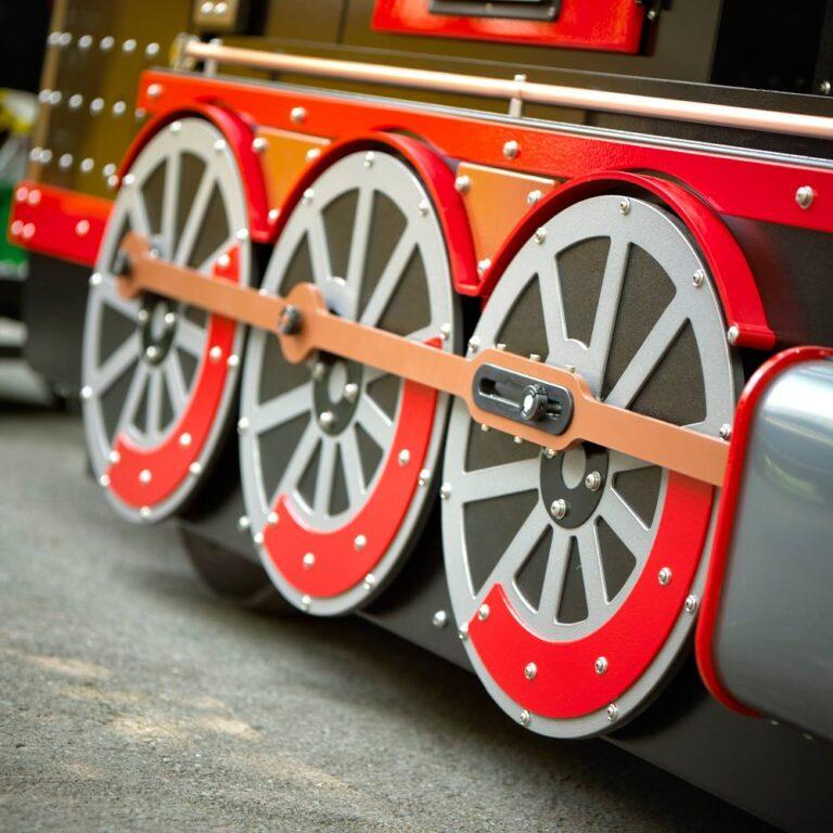 Special effect Mini Express Kindertrein wheels in motion