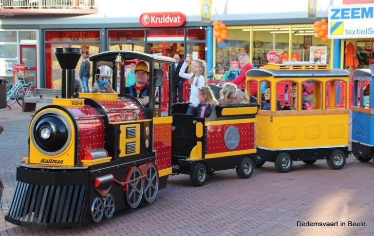 Mini Express kindertrein zeer geschikt voor winkelcentrum