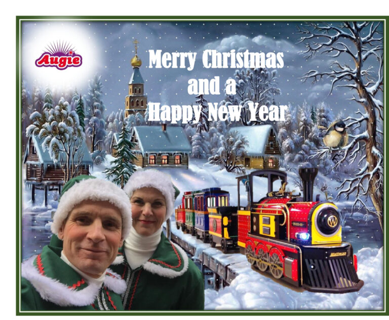 Kerst Express Kindertrein voor Kerstevent en winterevent